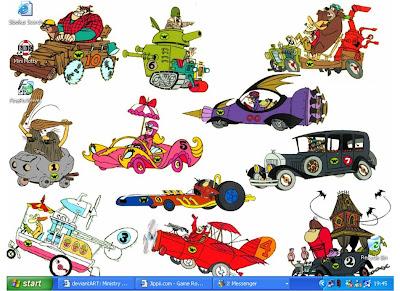 Your favourite Wacky Races vehicles/drivers | Wacky Races ...  |Wacky Racers Cartoon