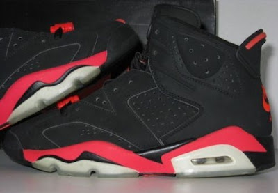 uk availability a0379 bea1d LIKE MIKE CLOTHING: Air Jordan VI Infrared Sample