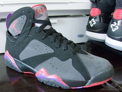 wholesale dealer 32685 48179 LIKE MIKE CLOTHING: Air Jordan VII Black/Charcoal