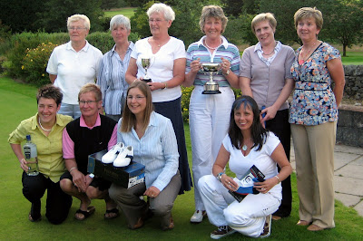 Some Prizewinners at the Glenhead Trophy Open Day at Lochwinnoch
