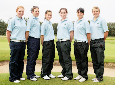 The 2008 Scottish Schoolgirls Team - Click to enlarge
