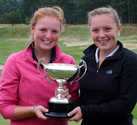Eilidh and Megan Briggs - The 2009 Scottish Foursomes Champions