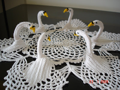 Free Crochet Swan Patterns Crochet And Knitting Patterns