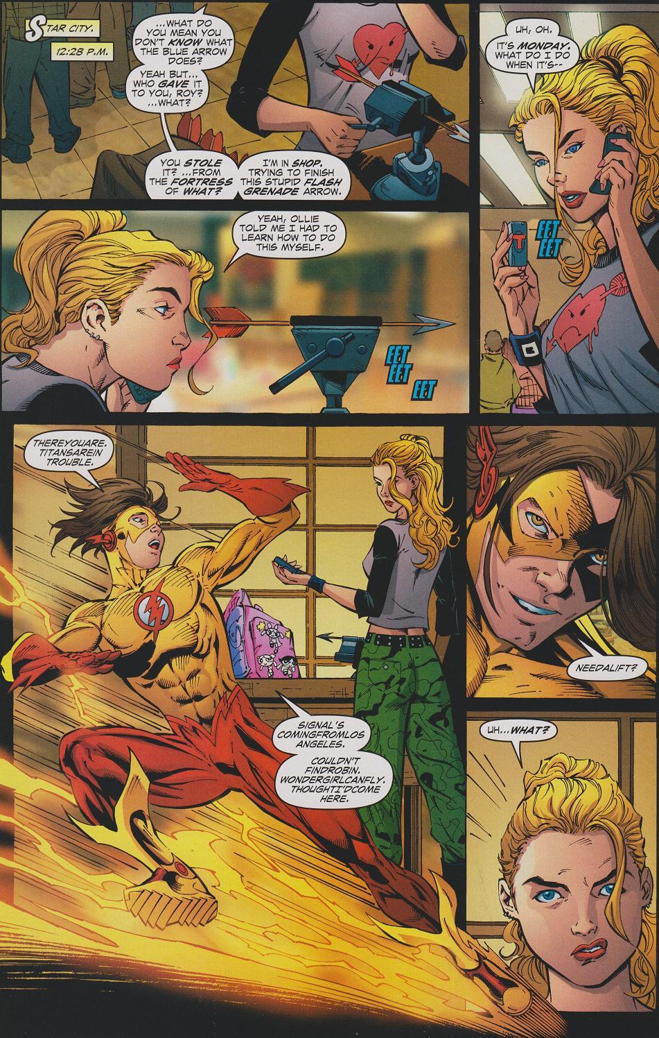 Uncanny Comic Book Scans Teen Titans 30Jan 2006-7618