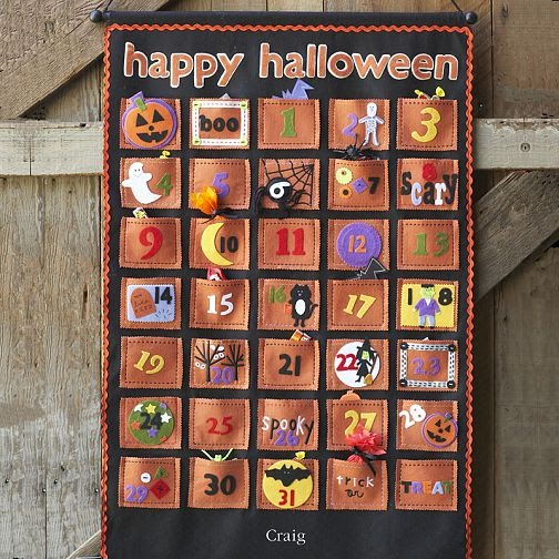I wish I had time to Halloween Advent Calendars