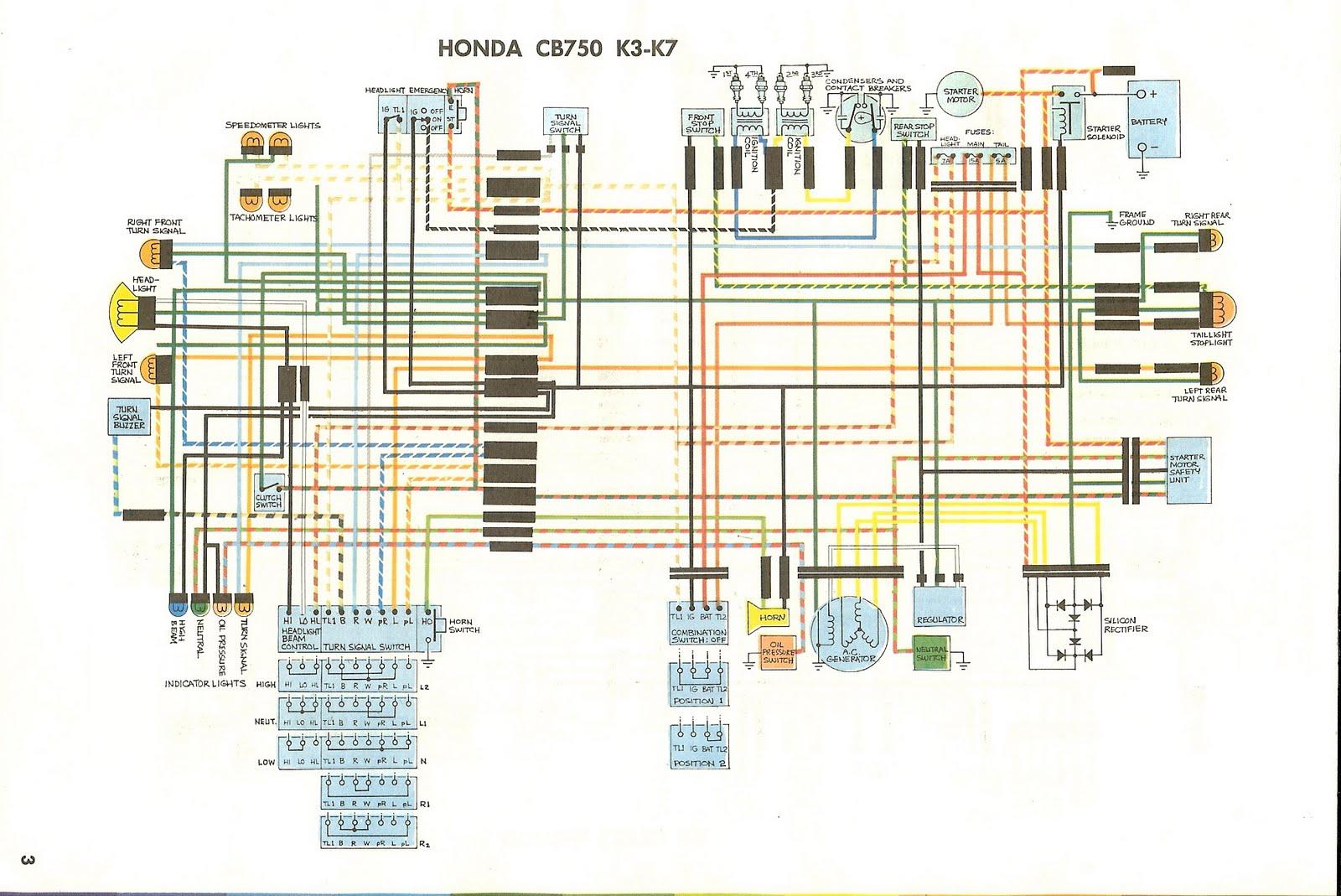 Honda 50 Wiring Diagram Honda Z50 Electrical Wiring Diagram 2014