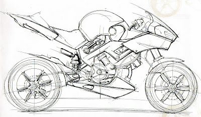 Cling on for dear life !!!: The Honda NAS Motorbike Concept