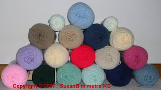 lot of yarn