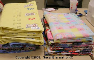 quilts with Project Linus labels