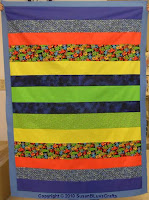 Simple Strips quilt top - Anita