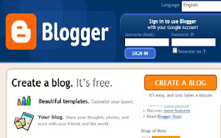 setup a free blog in blogger image 1