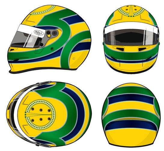 capacetes f1 capacetes helmet bruno senna no gp brasil. Black Bedroom Furniture Sets. Home Design Ideas