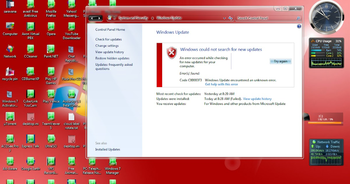 Troubleshooting Windows Errors And Solutions: Windows Update