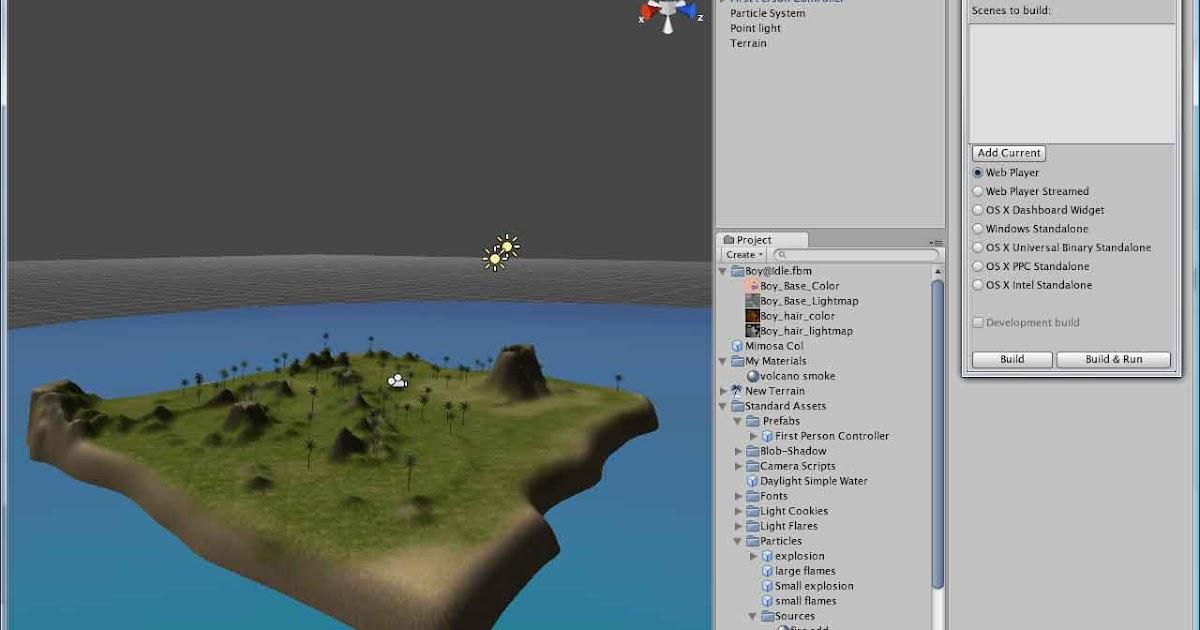 Jason Leon's Blog: Now with more Agile: Unity 3D Terrain