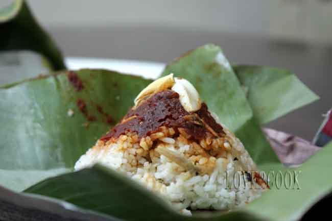 LOVE2COOK MALAYSIA♥: ♥...Nasi Lemak Bungkus (Wrapped Coconut/Creamy Rice)...♥