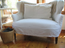 linen tablecloth slipcover