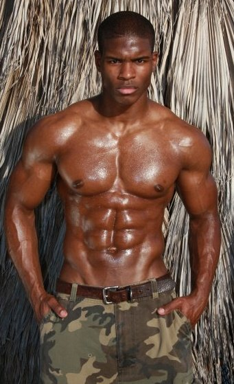 Hot Black Men Frank-8819