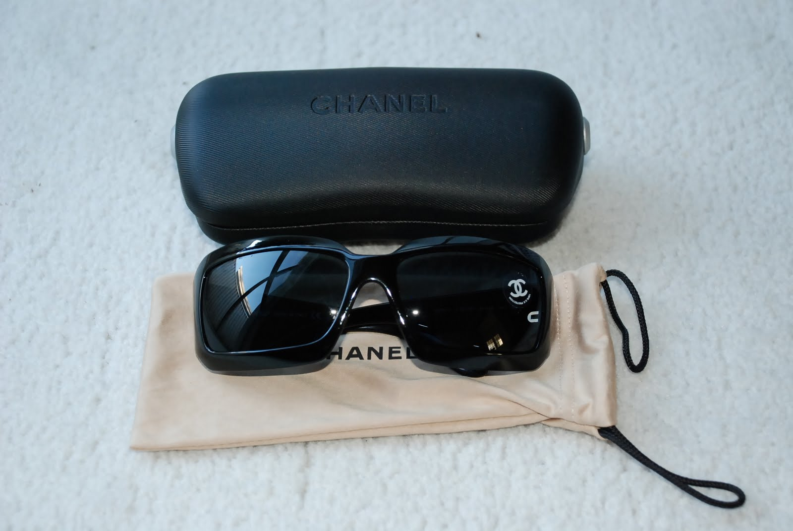 64c3338ee97b Gently used Chanel sunglasses for sale.