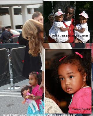HOUSE OF GLITZ   !!!: Sarah Chapman Diddy Daughter Photos (Chance