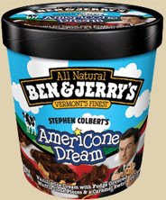 On Second Scoop Ice Cream Reviews Ben Jerry S Stephen Colbert S Americone Dream Ben & jerry's churned up this euphoric creation honoring the late i loved this ice cream so much i typed in ben and jerry's americone dream is amazing into google. on second scoop