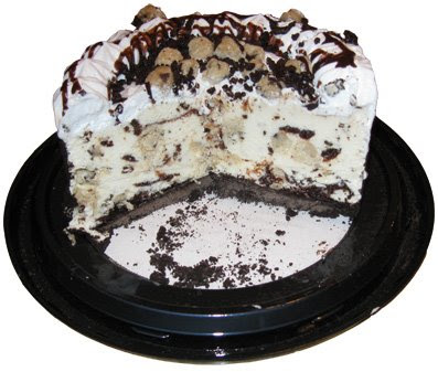 Friendlys Oreo Cookies Cream Ice Cream Cake Fudge