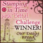 Stamping in Time winner