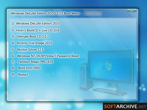 Windows DeLuXe Edition 2010 v20 MultiBootable