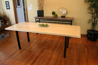 Bamboo Dining Room Table