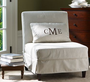 Pottery Barn Club Chair Grey Accent Chairs One Find At A Time: Bedroom