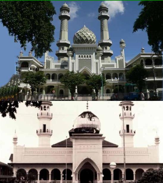 Masjid Jami Malang Malam Hari Nusagates