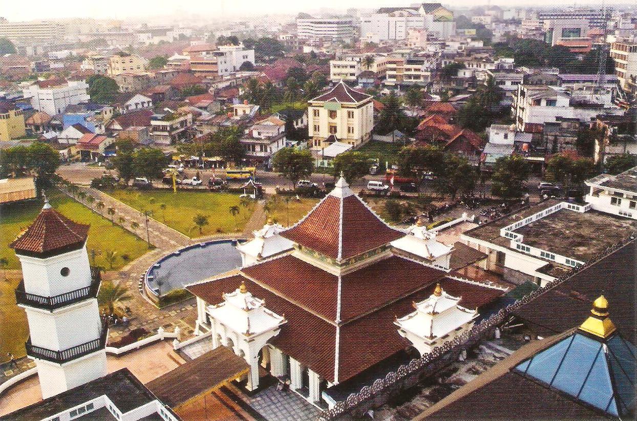 Rindu Masjid: Masjid Agung Sultan Mahmud Badaruddin II
