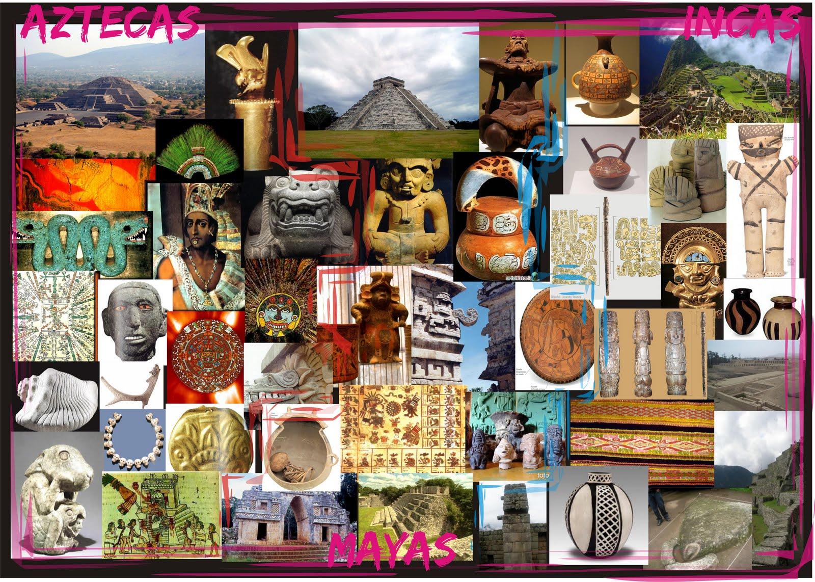 """El Arte De Las Culturas Formativas De Mesoamérica: EliiszaH: """"Collage De Culturas"""""""