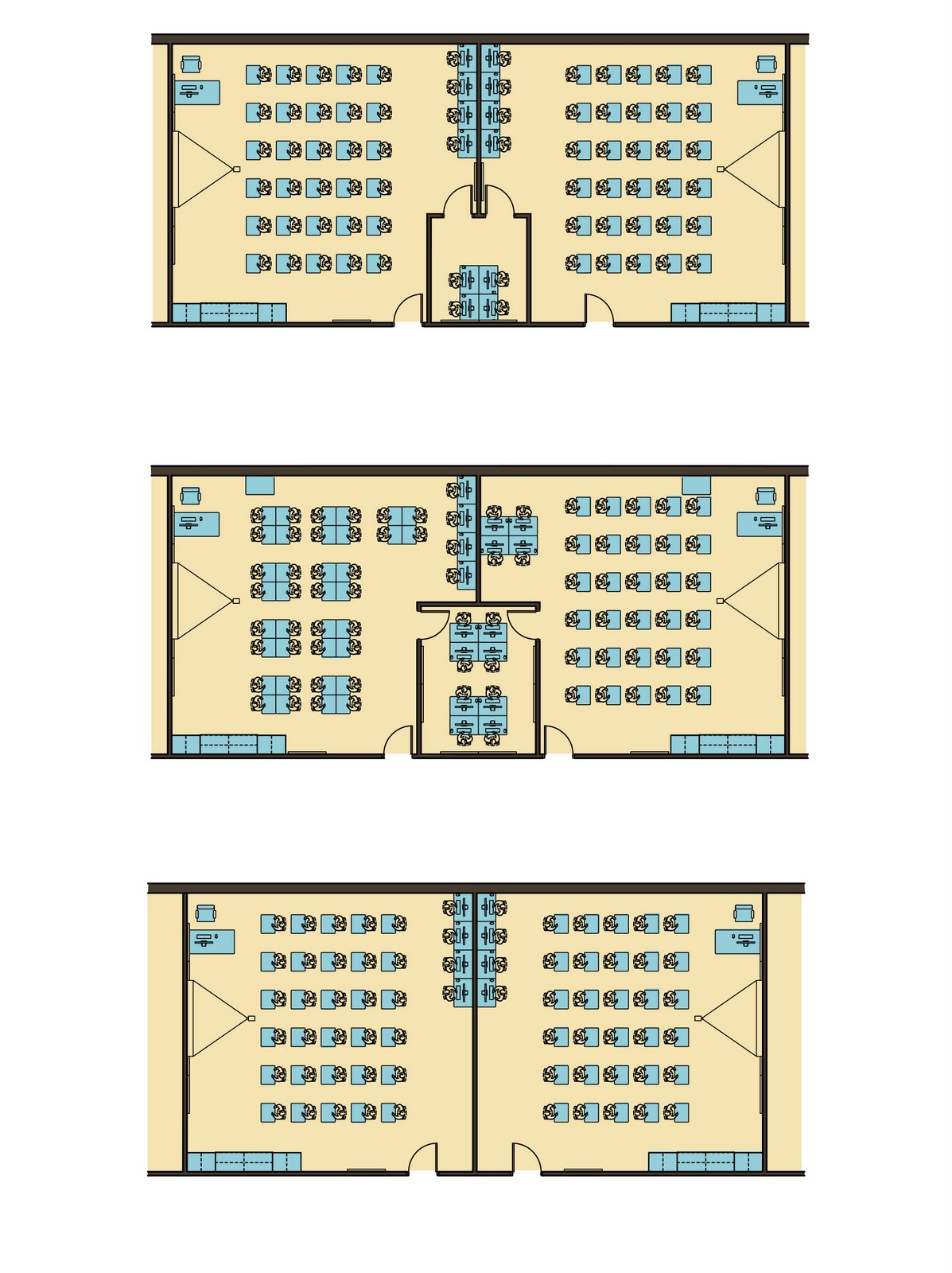 Bedford High School Classroom Layout Options