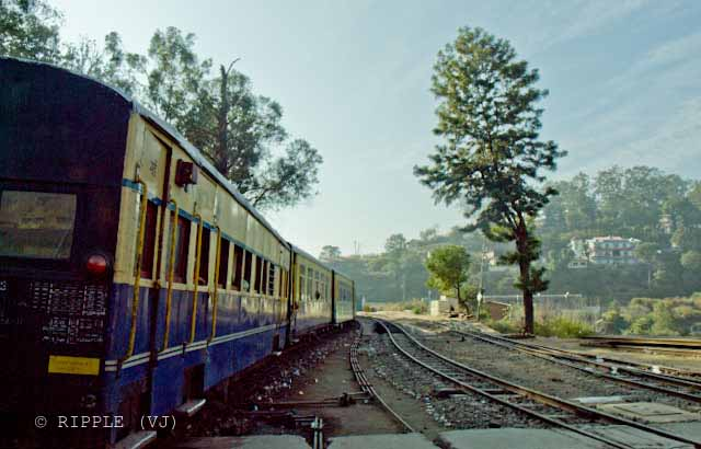 Long Wait time of Shimla-Kalka Toy Train gives enough time to appriciate the beauty of Himachal Pradesh: Posted by VJ on PHOTO JOURNEY @ www.travellingcamera.com : VJ, ripple, Vijay Kumar Sharma, ripple4photography, Frozen Moments, photographs, Photography, ripple (VJ), VJ, Ripple (VJ) Photography, VJ-Photography, Capture Present for Future, Freeze Present for Future, ripple (VJ) Photographs , VJ Photographs, Ripple (VJ) Photography : Another waiting stop @ Solan Railway Station.