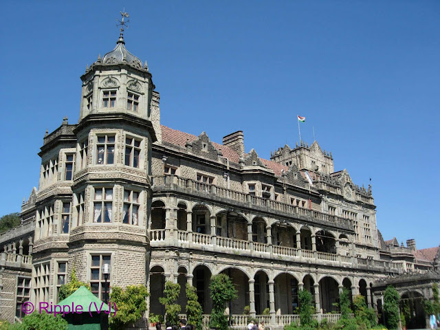 Posted by Ripple(VJ): Viceregal Lodge : The building that houses the Institute was originally built as a home for Lord Dufferin, Viceroy of India from 1884 - 1888 and was called the Viceregal Lodge.[2] It housed all the subsequent viceroys and governor generals of India. It occupied the Observatory Hill, one of the seven hills that Shimla is built upon.