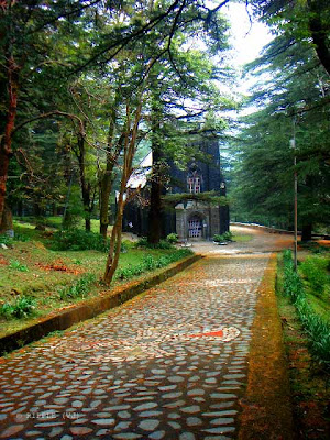 Posted by Ripple (VJ) : The Gothic stone building of the Church was constructed in 1852. The site also has a memorial of the British Viceroy Lord Elgin, and an old graveyard. The church building is also noted for its Belgian stained-glass windows donated by Lady Elgin.: Mcleoganj, Mcloedgaj, Dharmshala, Himachal Pradesh, Saint John Chruch, India, British times, ripple, Vijay Kumar Sharma, ripple4photography, Frozen Moments, photographs, Photography, ripple (VJ), VJ, Ripple (VJ) Photography, Capture Present for Future, Freeze Present for Future, ripple (VJ) Photographs , VJ Photographs, Ripple (VJ) Photography : Entry to St. John's Church @ Mcleodganj, Himachal Pradesh.