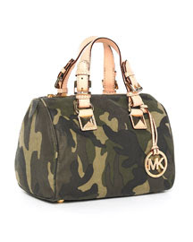 6bdd99dc6004 Heart  110 goes to...Michael Kors Camouflage Satchel! I love camouflage and  most people that know me