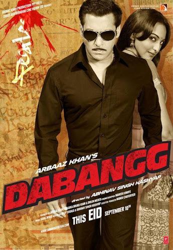 Dabangg (2010) Movie Poster