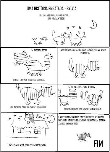 Abcd Estudar E Aprender Um Gato No Telhado