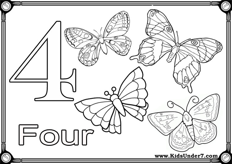 Numbers flash cards for kids. Kids Under 7 Flash Cards To Learn Numbers
