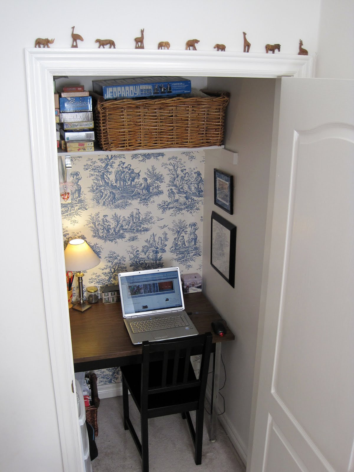 Sense and Simplicity: My Office-in-a-Closet