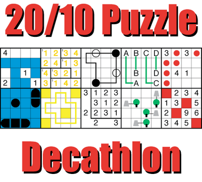 LMI October Puzzle Test named Puzzle Decathlon
