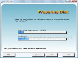 Tips Trik Shobi Membuat Installasi Windows 7, Vista dari USB Flashdisk