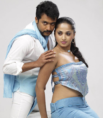 Anushka and Suriya Singam Movie Still