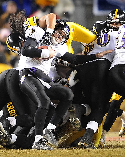 Black And Gold: Raven QB Flacco Suffers Same Fate As