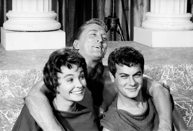 Tony Curtis And Leslie Exploring Mars