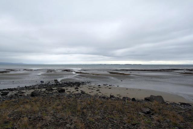 Paesaggio dopo lo sbarco dal traghetto Baldur
