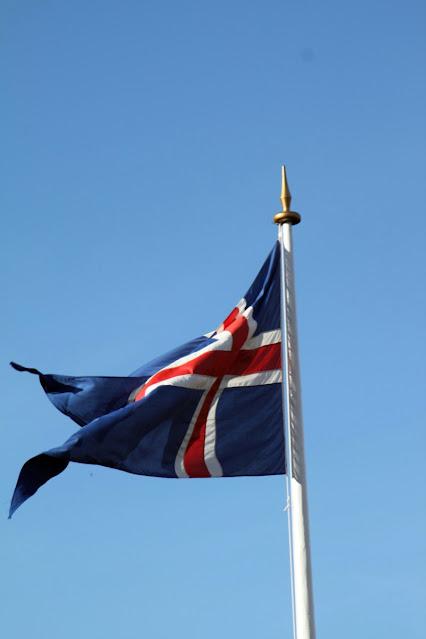 Pingvellir-Bandiera islandese
