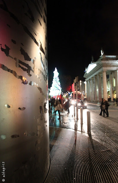 The Spire e O' Connell street-Dublino