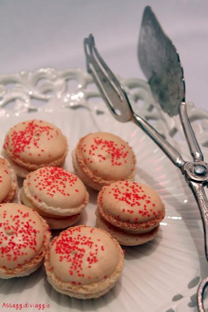 Macarons natalizi